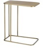 End Table C- Steel Gold by Asian Arts