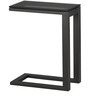Side Table C-Black Glass by Asian Arts