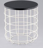 Side Table in Black Colour by Indecrafts