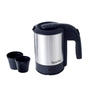 SignoraCare Powerful 1000 Watts Electric Kettle Open Mouth 0.5 Litres--Silver