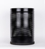 Silverware Black 7 L Dustbin