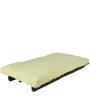 Single Futon Sofa cum bed With Green Mattress by ARRA
