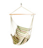 Single Layer Fabric Swing with Low Green Stripes by Slack Jack