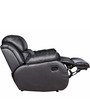 Single Seater Recliner with Rocker in Black Colour by Star India
