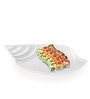 Sivica Durable Porcelain Shell serving tray Small - Set of 1