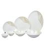 Sivica Premium Bone china Dinner Set - Set of 34 (HL0865)