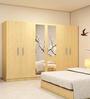 Six Door Wardrobe in Maldau Acacia Light finish in PLPB By Primorati
