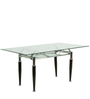 Six Seater Dining Table in Colour by Penache Furnishing