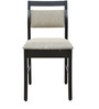 Six Seater Dining Set with Six Chairs in Wenge Color by Crystal Furnitech