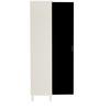 Mai Six Shelf Storage Unit in Black Finish by Mintwud