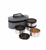 Sizzle Stainless Steel 275 ML 5-piece Air Tight Container Set