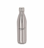 Sizzle Hot and Cold Silver Stainless Steel 750 ML Vacuum Water Bottle Flask - Set of 2