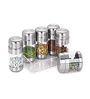 Sizzle Silver Assorted 150 ML Mouth Freshener with Acrylic Tray - Set of 6