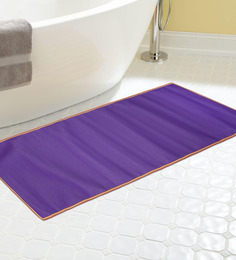 Skipper Purple PVC 68 x 24 Inch Solid Yoga Mat