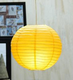 Skycandle Round Yellow Paper Lantern