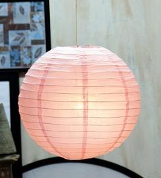 Skycandle Round Pink Paper Lantern