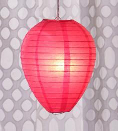 Skycandle Pink Oval Paper Lantern