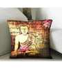 Skipper Multicolor Polyester 16 x 16 Inch Cushion Cover