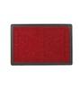 Skipper Red PVC 24 x 16 Inch Door Mat