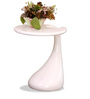 Sky Side Table in White Colour by Durian