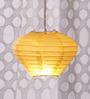 Skycandle Yellow Diamond Paper Lantern