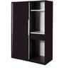 Slide N Store Wardrobe in Wine Red Finish by Godrej Interio