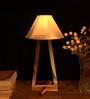 Slipknot Table Lamp in White by Bohemiana