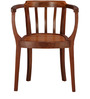 Slotted form chair- teak wood by Tube Style