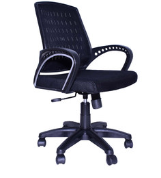 Smart Ergonomic Chair in Black Colour by Emperor