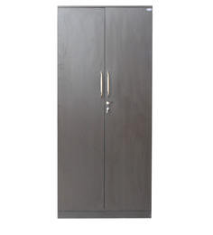 Smart Two Door Wardrobe in Wnge Colour by Crystal Furnitech