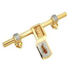 Smartshophar Brass Door Aldrop 8 Inches Gold Silver Finish Qeez