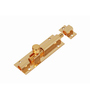 Smartshophar Brass Hex Tower Bolt 10 Inches Gold