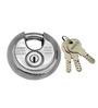 Smartshophar Stainless Steel Shutter Lock 10 Lever 90 mm Padlock