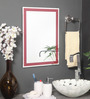 Torreon Mirror in Red by CasaCraft