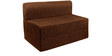 Sofa cum Bed (Single Bed) in Brown Colour by Springtek Ortho Coir