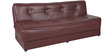 Sofa cum Bed in Brown Colour by Penache Furnishings