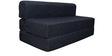 Sofa cum Bed in Dark Grey Colour by RVF