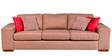 Sorocca Three seater Large Brown by Forzza