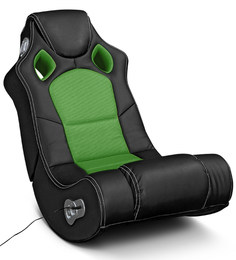 Sonic Music Chair in Green Colour by HomeTown