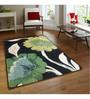 Sofiabrands Multicolour Wool Floral Hand Tufted Carpet