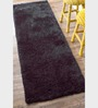 Sofiabrands Dark Brown Polyester Shaggy Fur Rugs