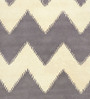 Zephyr Carpet in Grey by CasaCraft
