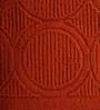 Softweave Orange Cotton 28 x 55 Bath Towel - Set of 2