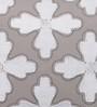 Solaj Multicolour Cotton 16 x 16 Inch Embroidery Geometric Pattern Cushion Cover