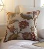 Solaj Multicoloured Cotton 18 x 18 Inch Printed  Cushion Cover