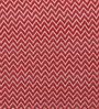 Solaj Red Cotton 18 x 18 Inch Woven Cushion Cover