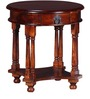 Amherst End Table in Honey Oak Finish by Amberville
