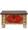 Tamyra Trunk with Repousse Work in Antique Finish by Bohemiana