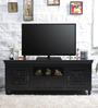 Ellenborough Entertainment Unit in Espresso Walnut Finish by Amberville