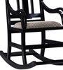 Somerville Rocking Chair in Espresso Walnut Finish by Amberville